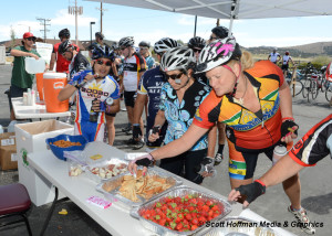 Tour de Big Bear Aid Station